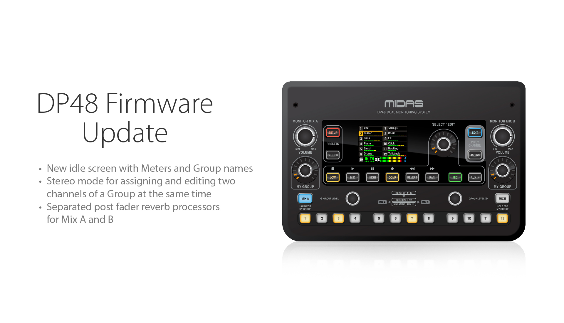 DP48 Firmware Update Version 1.3 - Now Available